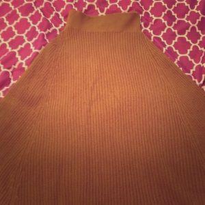 Skirt burnt orange/gold size M